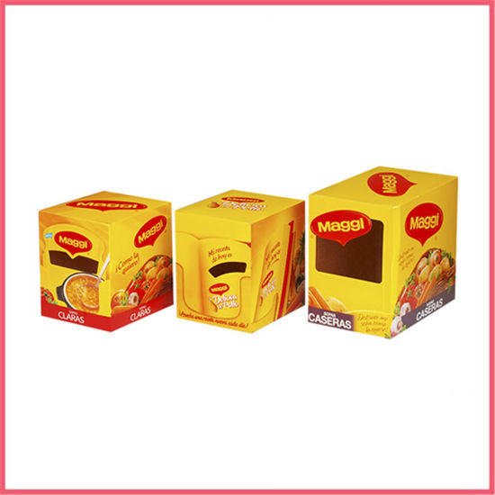 Custom Printed Corrugated Paper Snack Packaging Boxes