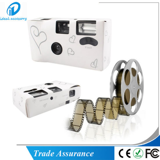 35mm Film Cheap Disposable Flash Quick Snap Single Use Camera (WDC-001) pictures & photos