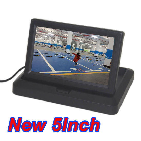 Car 5inch Color HD Folding Digital Screen LCD Display Monitor pictures & photos
