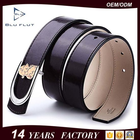 Fashion Women Garment Accessories Belt Genuine Cowhide Leather Lady Belts pictures & photos