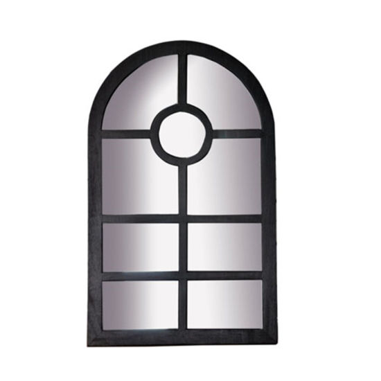 Wooden Framed Door Mirror with Frames for Home Decoration