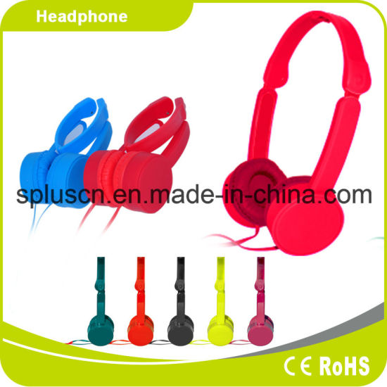 Promotion Products Gift Flexible Stereo Headphone pictures & photos