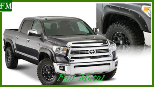 4PCS Front + Rear Fender Flares for 14-16 Toyota Tundra pictures & photos