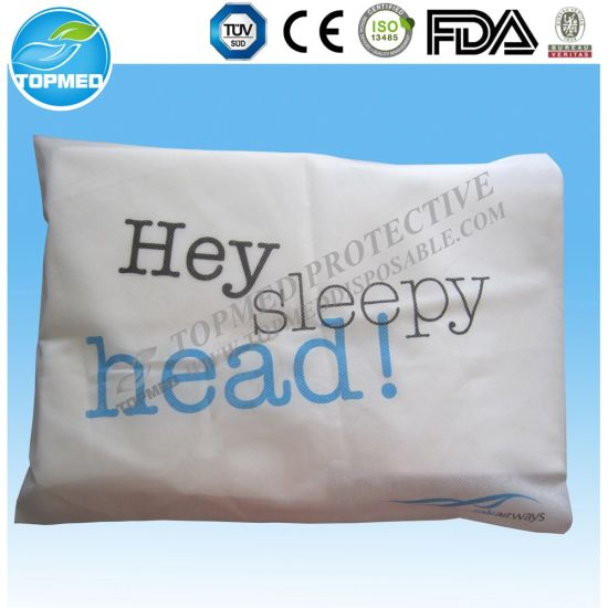 China Nonwoven Medical Use Pillow Cover SBPP Pillow Cover China Impressive Medical Pillow Covers