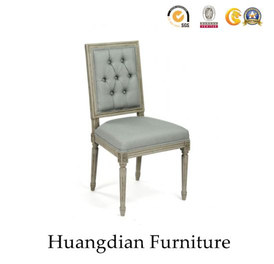 Customized Antique Hand Carved Dining Chair (HD091)