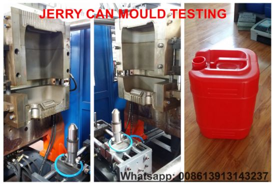 Ce Approved HDPE Blow Moulding Machine for Making 10~30L Jerry Cans pictures & photos