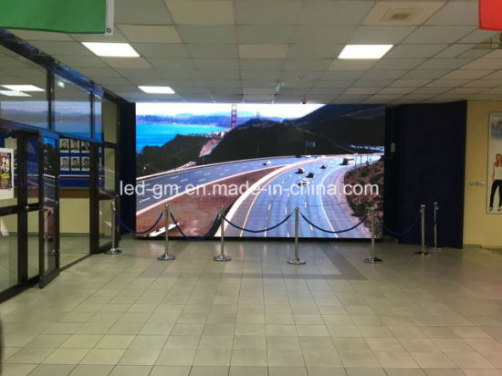Wholesale Price P4 Indoor Advertising Media Vision LED Screen Display pictures & photos