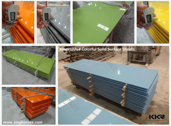 Manufacture Artificial Stone Marble Acrylic Corian Solid Surface pictures & photos