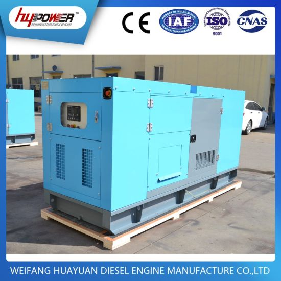 Silent Type Generator Denyo 25kVA with 490d Diesel Engine pictures & photos