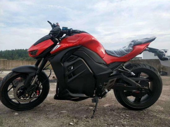 Python 5000W Max Power with QS Motor Electric Motorcycle 100km/H