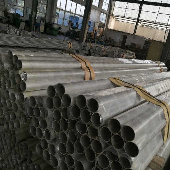High Strength Good Hardness Alzn5.5mgcu Aluminum Alloy Pipe pictures & photos