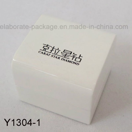 Classical White Shiny High Quality Wooden Jewelry Box Packaging Box  Wholesale