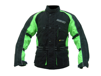 Men's Polyester Moto-Boy Protective Motorcucle Clothing for Weather Proof
