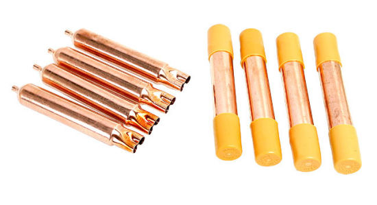 Refrigeration Spare Parts Copper Tube Stainer Filter Drier (25g)