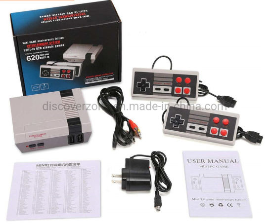 2020 Mini Retro Game Console 620 Childhood Classic TV Video Games Handheld Game Console