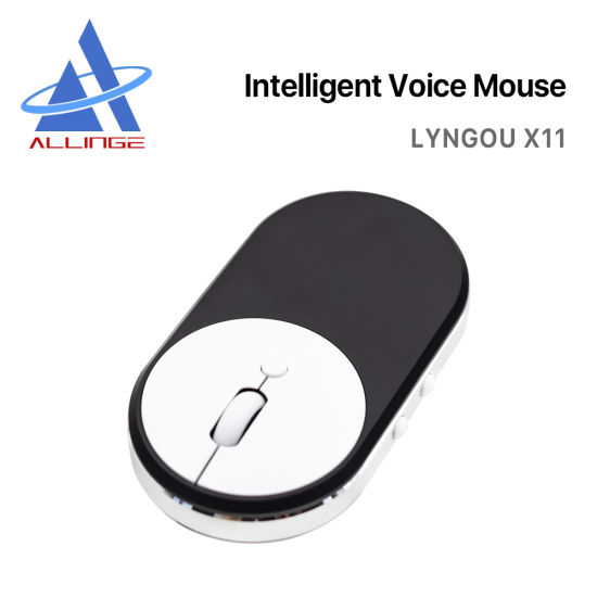 Lyngou LG066 X11 High Quality Wireless Ai Voice Mouse with 28 Languages Voice Translation Computer Smart Gaming Mouse