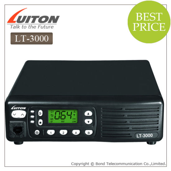 China Quanzhou Lt-3000 10W Portable Radio Repeater - China