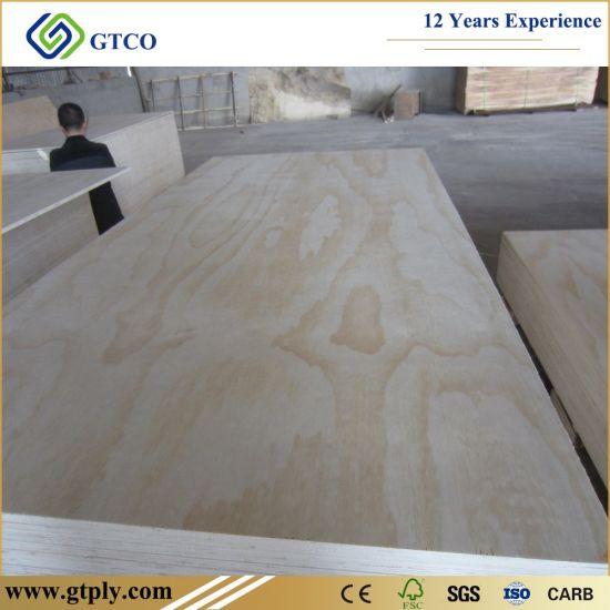 Cc Grade 15mm Radiate Pine Construction Plywood