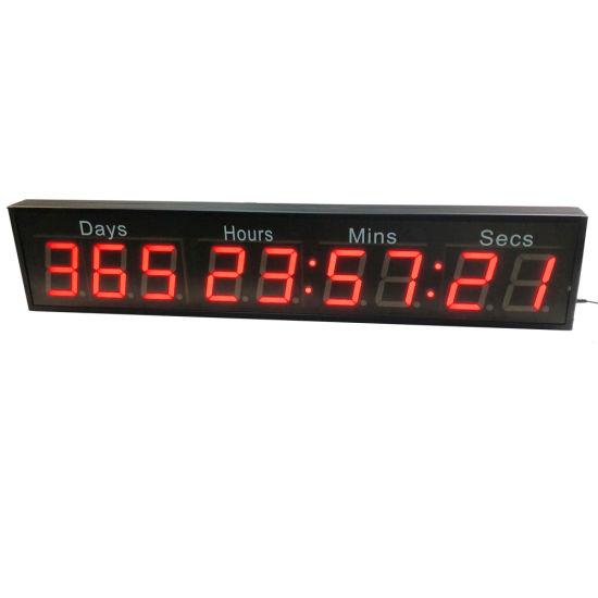 2.3 Inch 9 Digit Programmable LED Digital Countdown Timer Clock