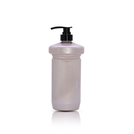 Wholesale 500ml Empty Beauty Packaging Pet Plastic Purple Shampoo Bottle
