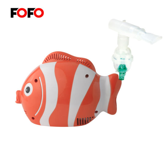Fish Nebulizer for Kids Pediatric Compressor Nebulizer