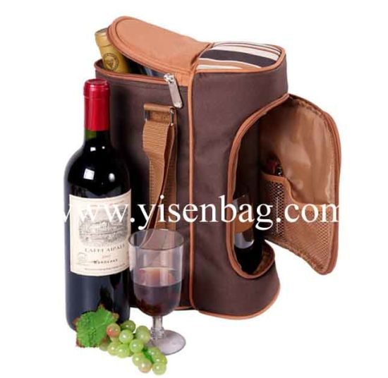 Fashion Red Wine Cooler Bag (YSCLB00-117)