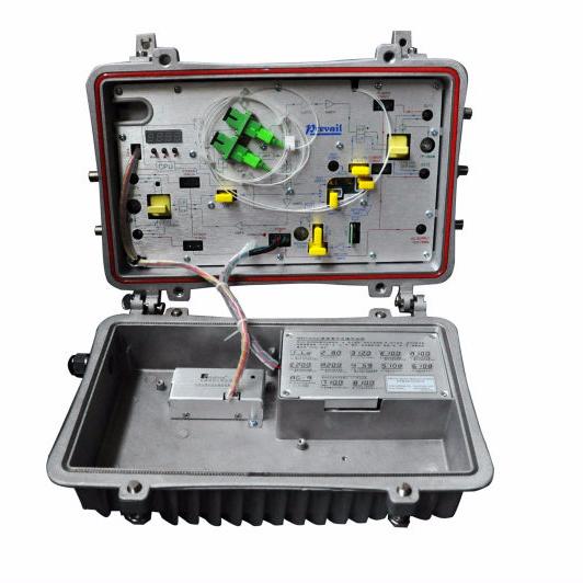 Four Outputs Bi-Directional Outdoor AGC Optical Node Optical Receiver Wr1004jl