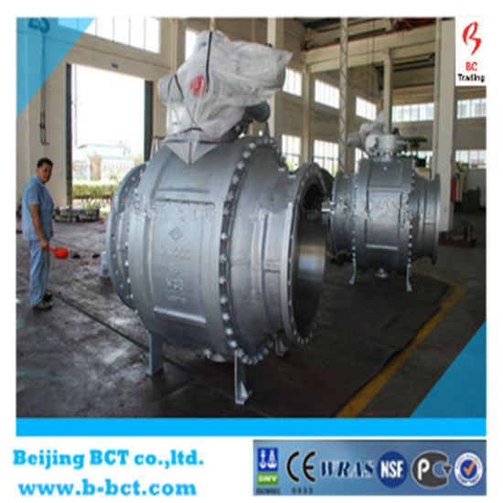 Flange Type Eccentric Ball Valve, Ductile Iron Body Bct-E-BV03 pictures & photos