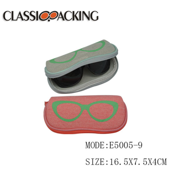 Good Quality Factory Price Promotional Advertising Custom Portable Elastic Deformable Glasses Case