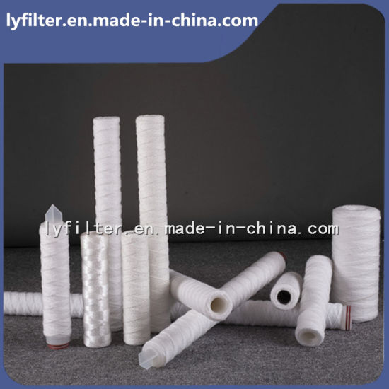 Cotton Yarn Filter Cartridge/Glass Fiber Filter Cartridge for Stainless Steel Filter Housing