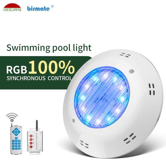 PAR56 AC12V IP68 Waterproof Svnchronous Control LED Concrete Swimming Pool LED Lights