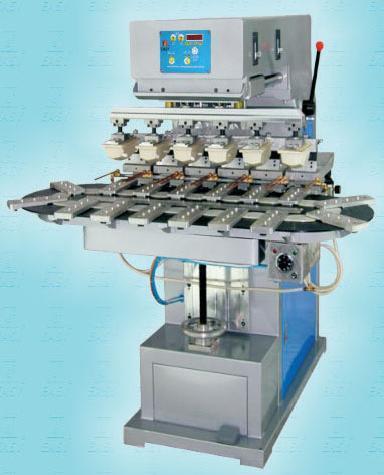 Automatic Six Colors Pad Printing Machine