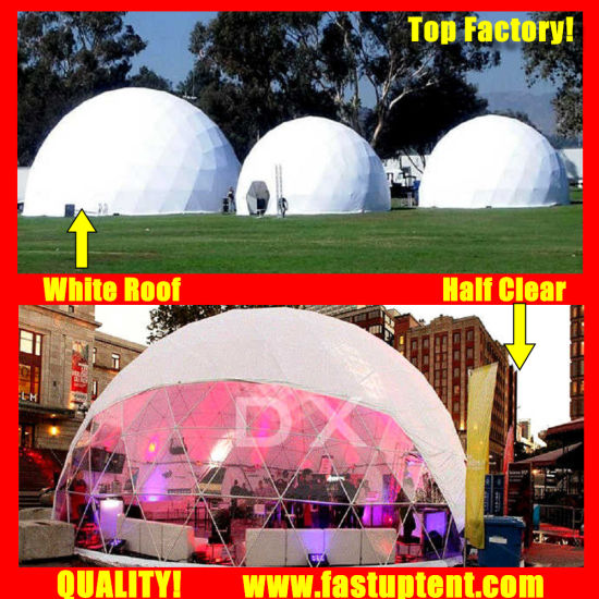 High Quality Geo Dome Diameter 18m Geodesic Dome Tent for Brand Ceremony