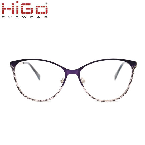 2018 Vintage Stainless Steel Metal Optical Frame Manufacturer in China