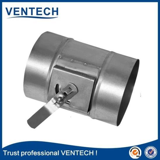 China High Quality Round Volume Control Damper for HVAC