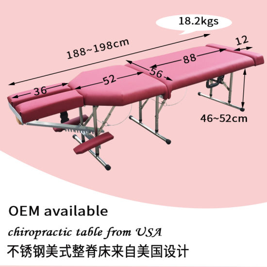 Astounding China Stainless Steel Portable Chiropractic Table Tuina Unemploymentrelief Wooden Chair Designs For Living Room Unemploymentrelieforg