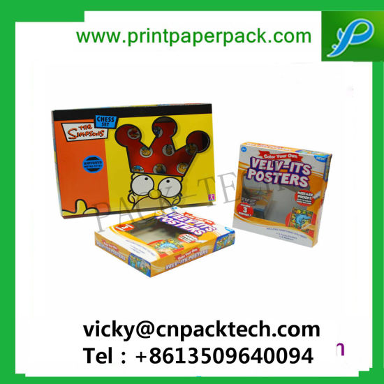 Luxury Premium Hot Sale Carton Toy Packaging with PVC Window Product Display Boxes Luxury Packaging Cardboard Boxes pictures & photos