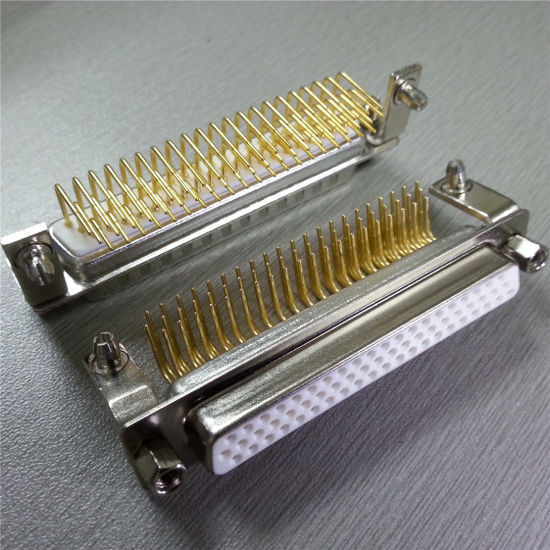 D-SUB 62 Pin Male and Female Right Angle for PCB Connector