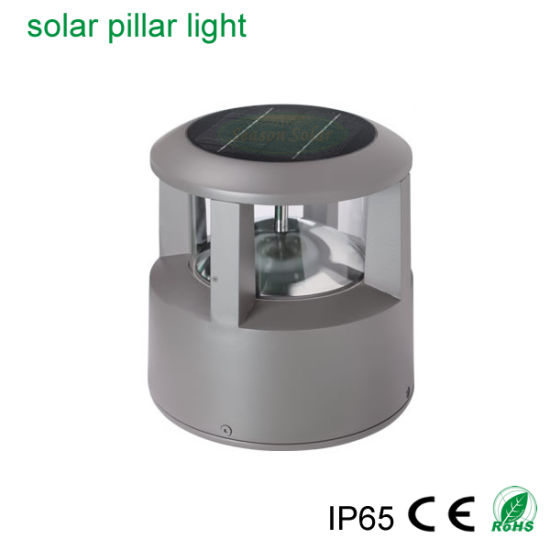High Power LED Decoration Lighting IP65 Outdoor Solar Garden Light with Solar Panel