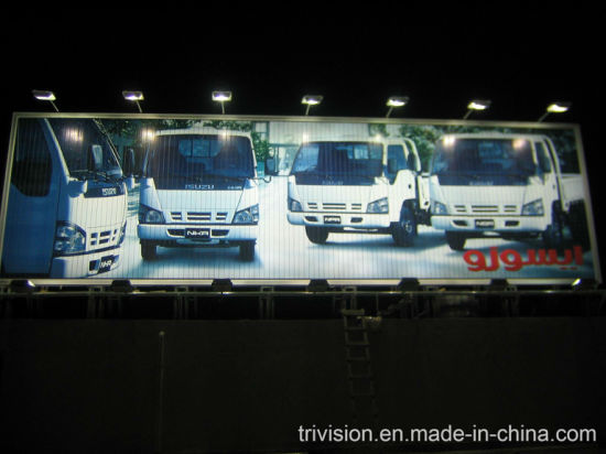 Road Aluminium Triangle Scrolling Advertising Sign Lighting Trivision Billboard pictures & photos