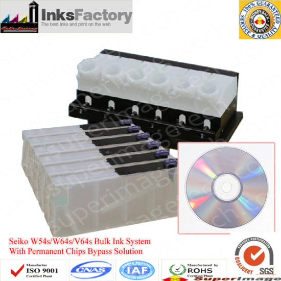 China HP Designjet 8000s Bulk Ink System with Permanent Chips Bypass
