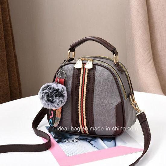 b2ee6a00f654 Fashion Designer PU Leather Lady Handbag, Shoulder Messenger Sling Bags,  Five Candy Color Cute Woman Purse Croddbody Bag Handbag
