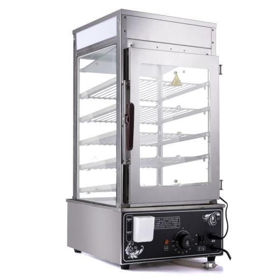 Transparent Food Display Cabinet/Food Steamer/Bread Steamer For Sale