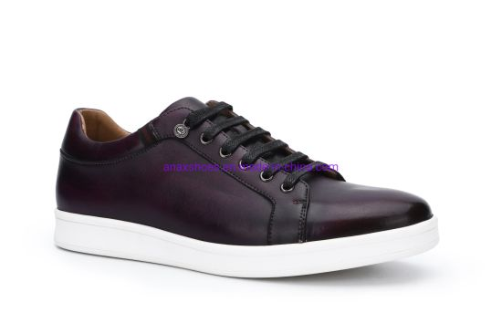 2020 Hot Design Men′ S Sneaker High-Quality Casual Shoes Sport Shoes and High Quality Popular Men′ S Lace-up Leather