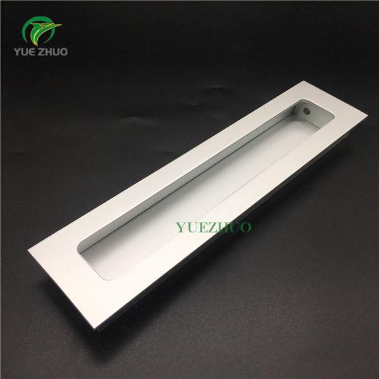 China Kitchen Concealed Door Handle Cabinet Hidden Handles Flush ...