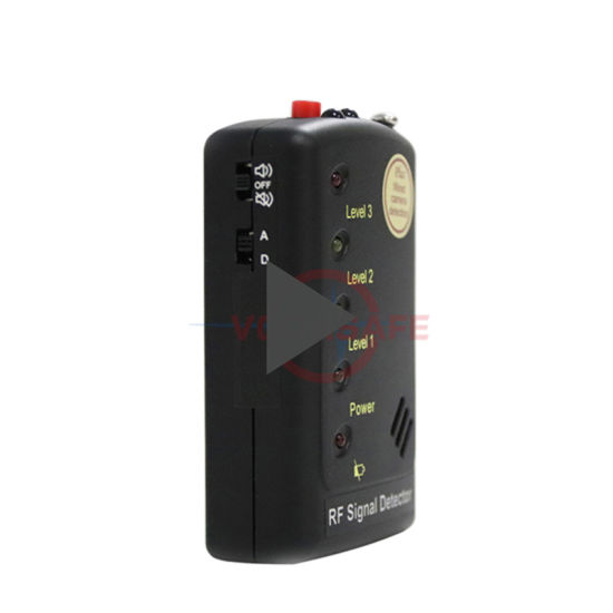 Pocket RF Signal Detector Mobile Phone Detector 5.8GHz Wireless Camera up to 8 Feet