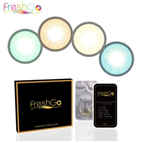 [Hot Item] Wholesale Freshgo Korea Yearly Circle Eye Lenses Color Contact  Lens