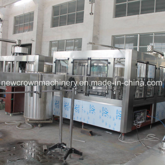 Automatic Monoblock Water Pet Bottle Washing-Filling-Capping Water Filling Machine pictures & photos