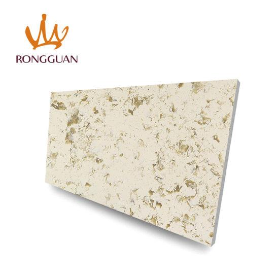 Cheap Price Custom Artificial Quartz Stone Dining Table Top