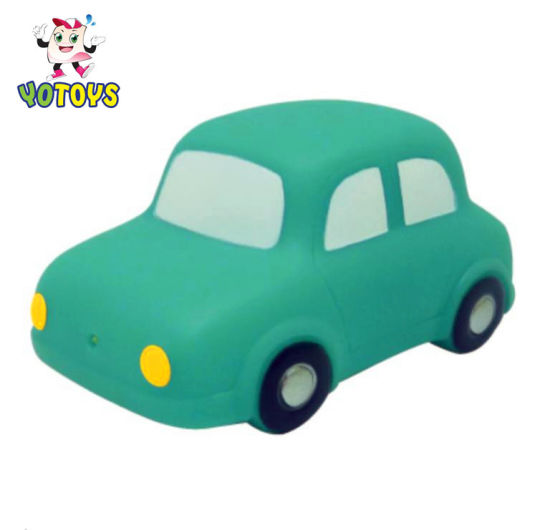 China Factory Wholesale Safety Baby Bath Vinyl Playing Car Toys